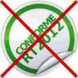 non conformité rt2012 sanctions risque contrôle infiltrométrie air bati controle
